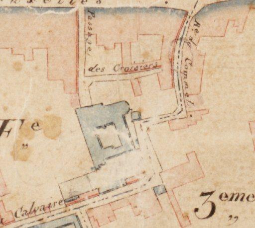 Commel - Kadasterkaart 1811 - 1832