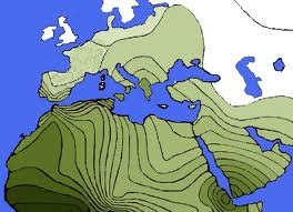 Spresd of haplogroup E