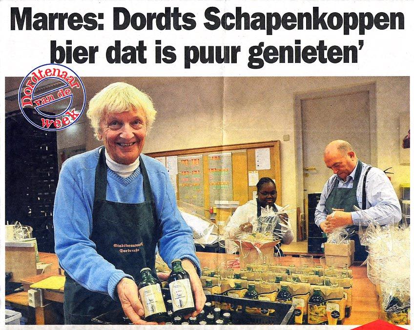 Herman Marres en zijn Schapenkoppenbier