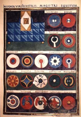 Insignia Viri Illustris Magistri Equitum et Comitates Alani