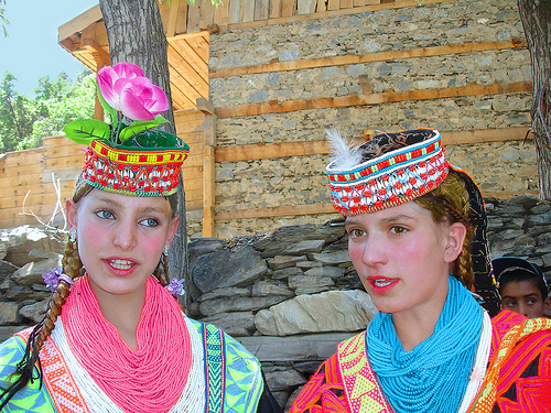Kalashmeisjes
