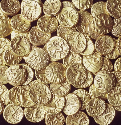 Keltische munt gevonden bij Amby