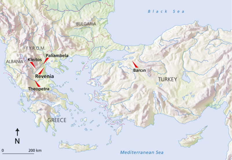 North Aegean archaeological sites