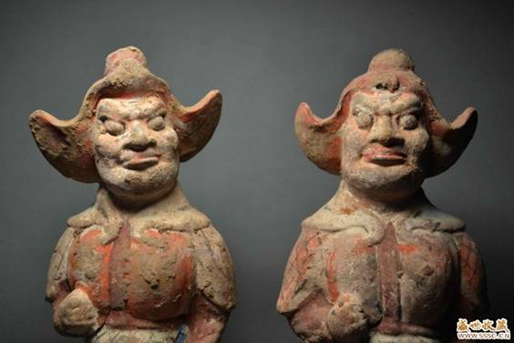 Sauromatian warriors of Tang dynasty