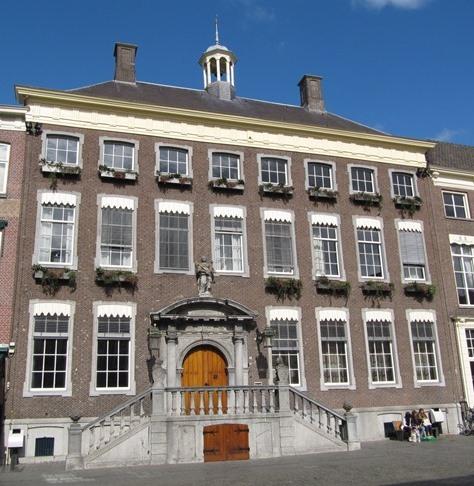 Raam Marres-Franquinet in het Stadhuis van Maastricht