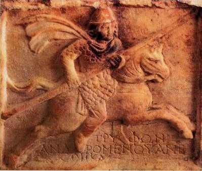 Sarmato-Alaans cavalarist, 1e-2e eeuw