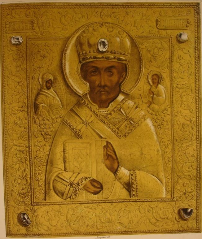 Portrait d'un Patriarch grec ou d'un Saint