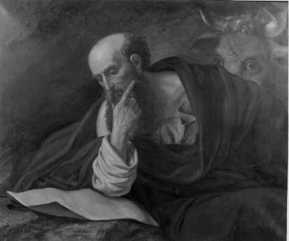De Evangelist Sint Lucas