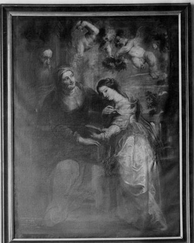 Maria als tempeldochter