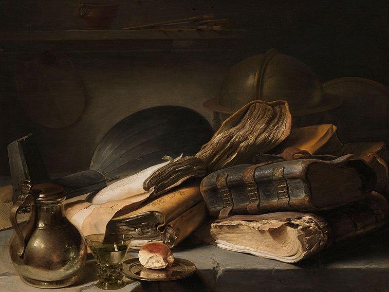Stilleven_met_boeken_Rijksmuseum_SK-A-4090_Jan Lievens_ca1630_799px