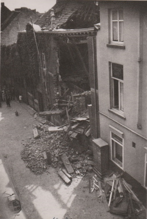 Bom op pastorie O.L.Vrouwekerk te Maastricht, 26 juli 1943
