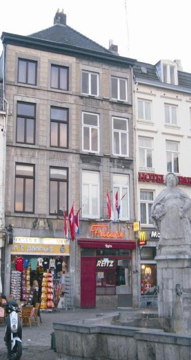 Markt 74 te Maastricht foto coll. Markt 74- Rijksmonument nr. 27378