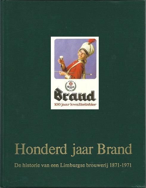 Gedenkboek Brand Bierbrouwerij bij het 100jarig bestaan