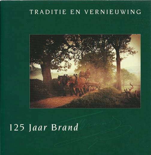 Gedenkboek Brand Bierbrouwerij bij het 105jarig bestaan