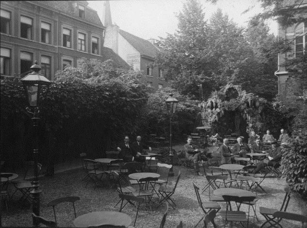 Tuin Hotel Victoria te Maastricht
