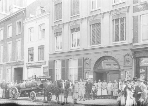 Brouwerij de Valk op de Boschstraat te Maastricht