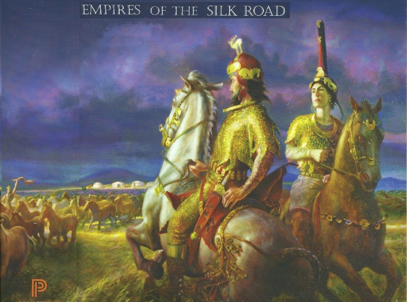 Cover illustration of Christopher I. Beckwith Empires of the Silk Road