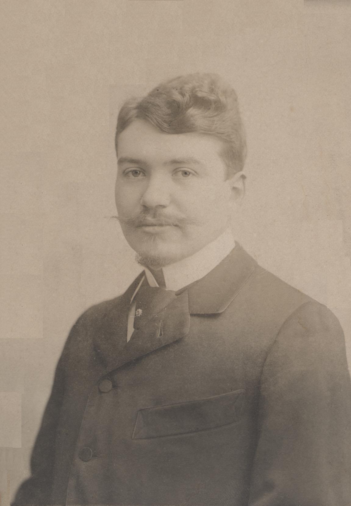 Eugène II als jongeman