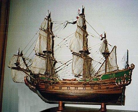 Friedrich Wilhelm zu Pferde, Fregat gebouwd in Pillau-Koningsberg, thans Kaliningrad in Litauen