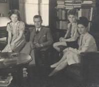 Gezin Marres-Franquinet in 1947