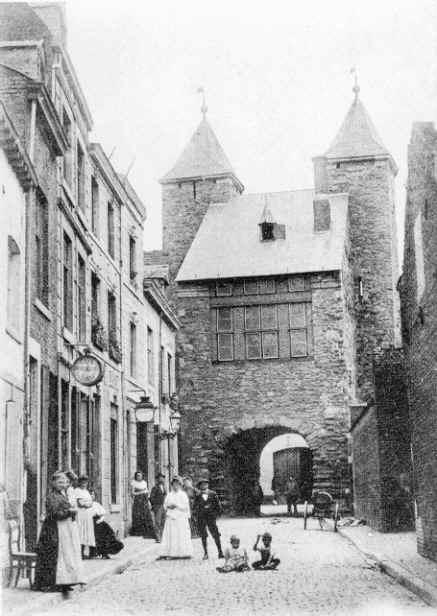 De helstraat in het jaar 1904