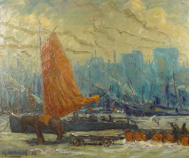 Het bassin te Maastricht