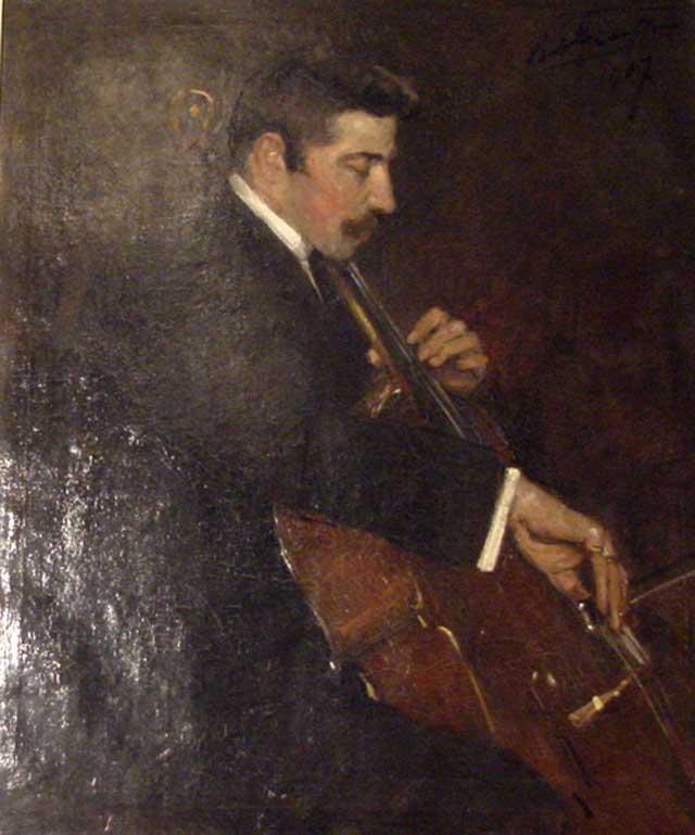 Charles Hollman geschilderd door jhr. R.A.A.J. Graafland (1875-1940
