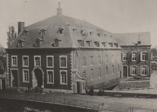 Maasmolen te Maastricht, omstreeks 1900