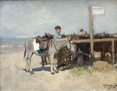 Schilderij van Anton Mauve