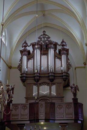 orgel Sint Matthiaskerk te Maastricht