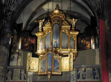 Orgel Onze Lieve Vrouwekerk te Maastricht, Foto Ton Reijnaerts