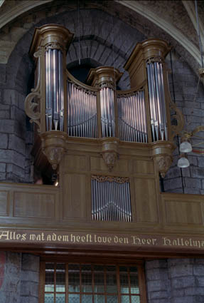 orgel St Janskerk te Maastricht