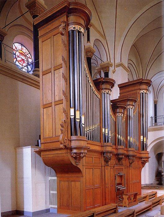 orgel De Basiliek van Sint Servaas te Maastricht Foto: www.zichtopmaastricht.nl - Maastrichts Orgelpracht.