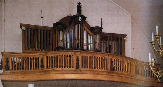 Orgel Sint Lambertuskerk te Oirsbeek