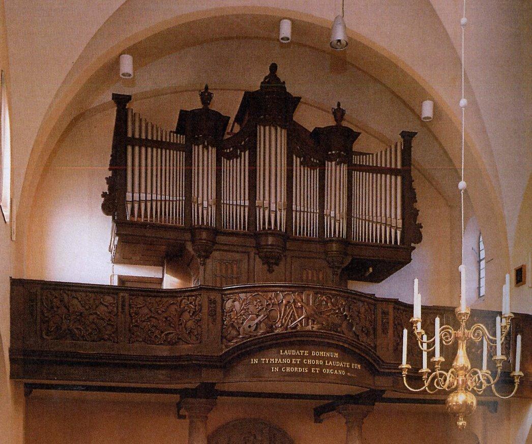 Orgel St Remigiuskerk te Simpelveld
