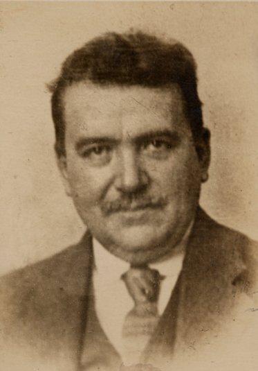 Eugène II Marres als jongeman