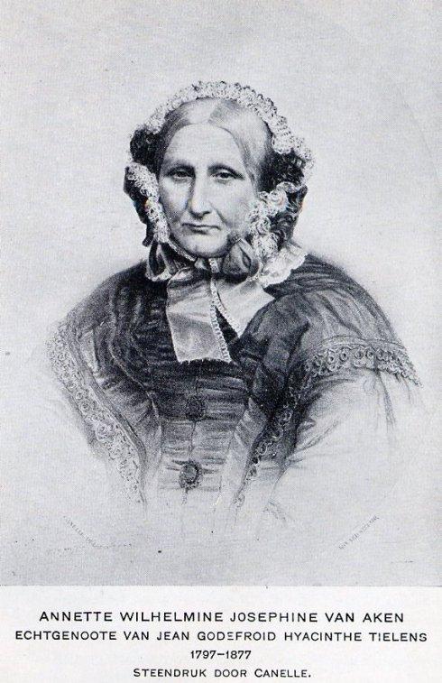 Annette Wilhelmine Josephine Tielens-van Aken 1797 - 1877