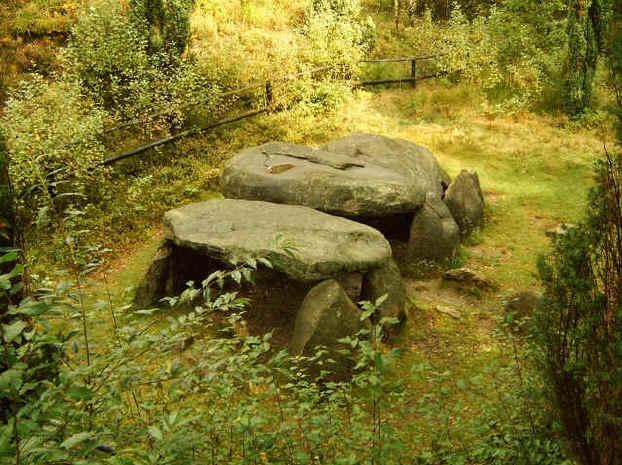 Stone tumb near Derenburg in Sachsen Anhalt (Dld.)