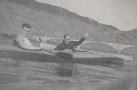 Eugène P.E.J. Marres en Cinthe de Beaumont in kano