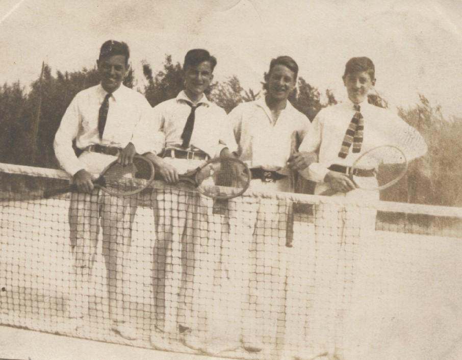 Tennis op Ready te Maastricht begin jaren twintig