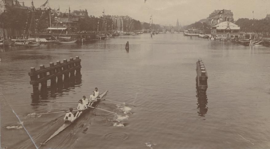 Nereus wint van Triton op de 'Koninklijke' in 1908