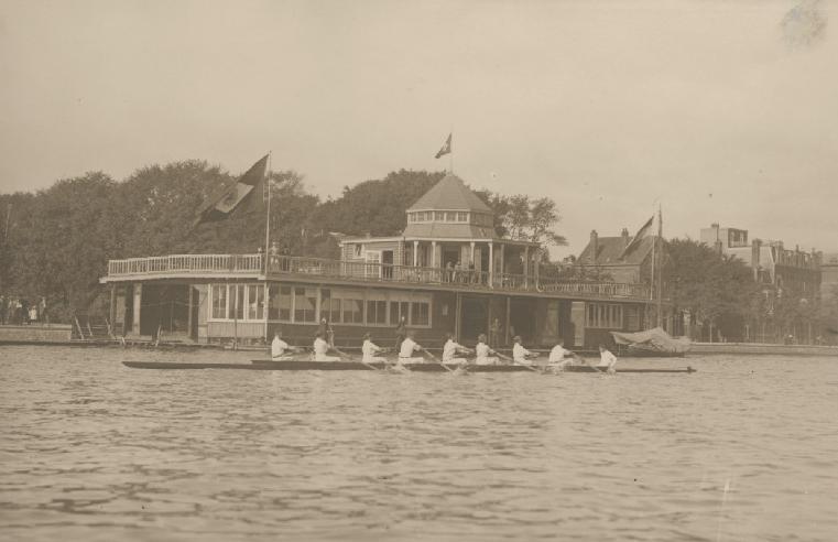 Mixed acht naar Abcoude - september 1915