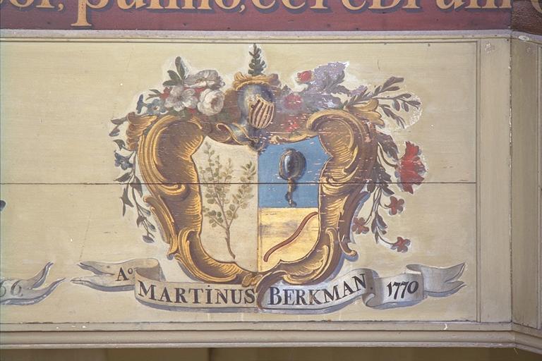 Ao MARTINUS BERKMAN 1770