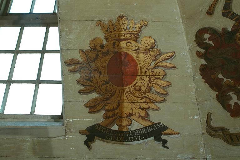 SEGEL van 't CHIRURGIJNS. GILDE 1732