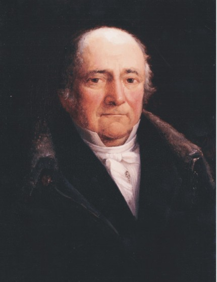 Geschilderd portret van Nicolaas Rutten, 1775-1842