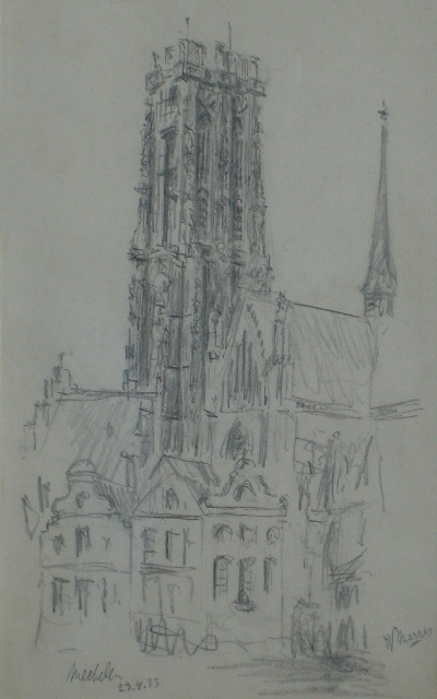 W. Marres, Mechelen kerk, 23 november 1932